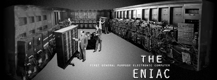The ENIAC: The First General Purpose Electronic Computer.  History and links to original source information