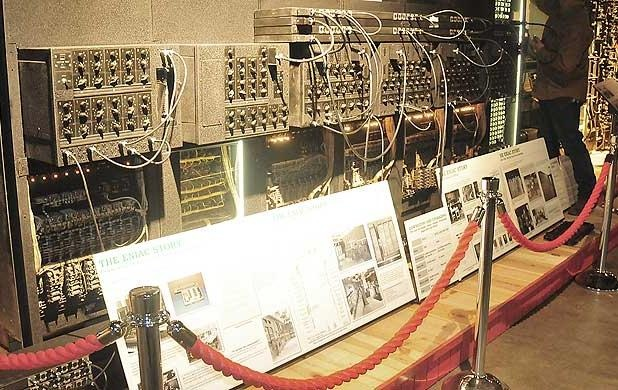 The ENIAC panels owned by the army were returned from Perot Systems in Texas, <a href=